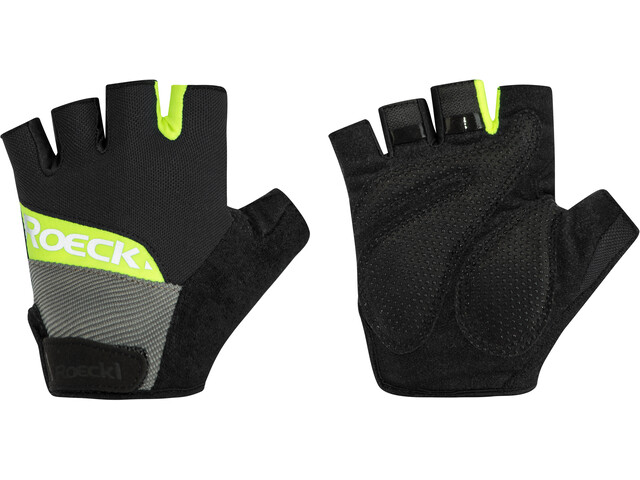 Roeckl Bozen Handschuhe schwarz/gelb